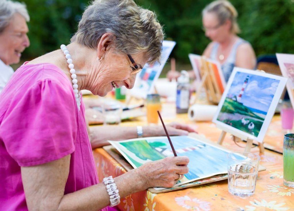 Best Hobbies For Retired Women
