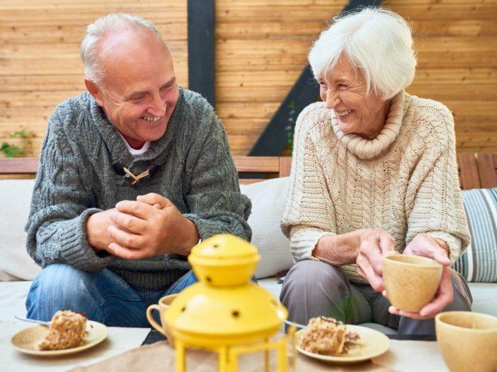 Retired Couple Enjoying their Retirement Savings