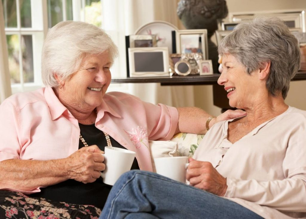 Retired Ladies caring for their Emotional Health