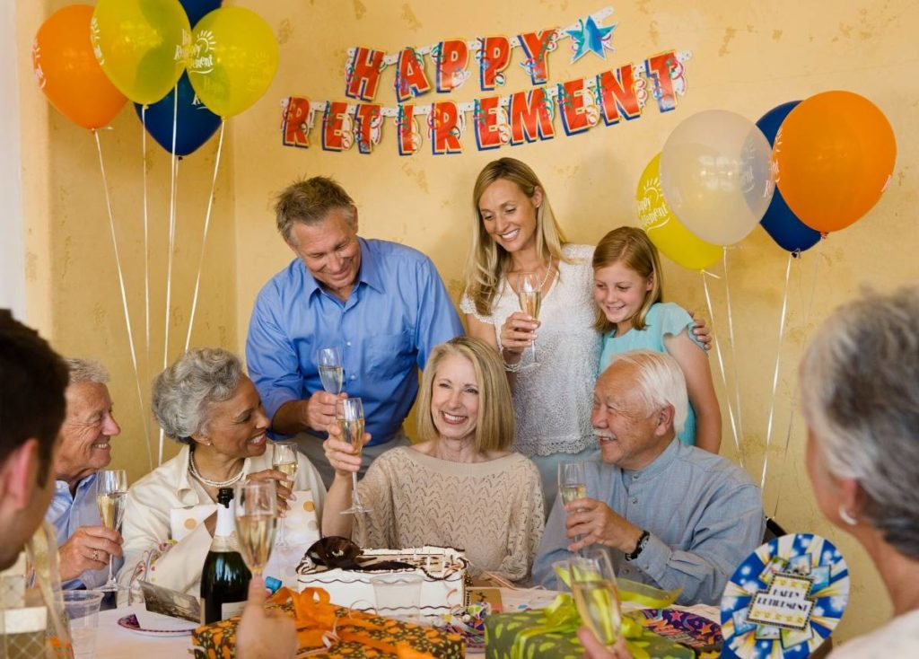 What Do You Say On Retirement Day?