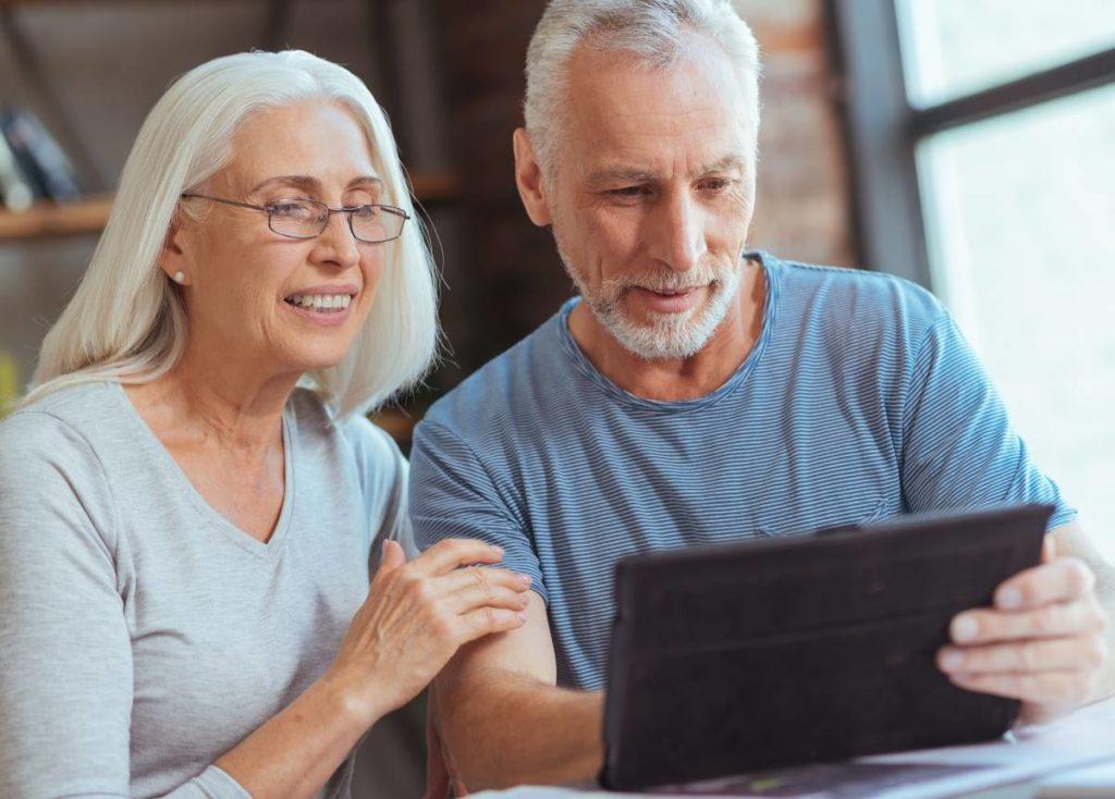 senior couple planning for Retirement