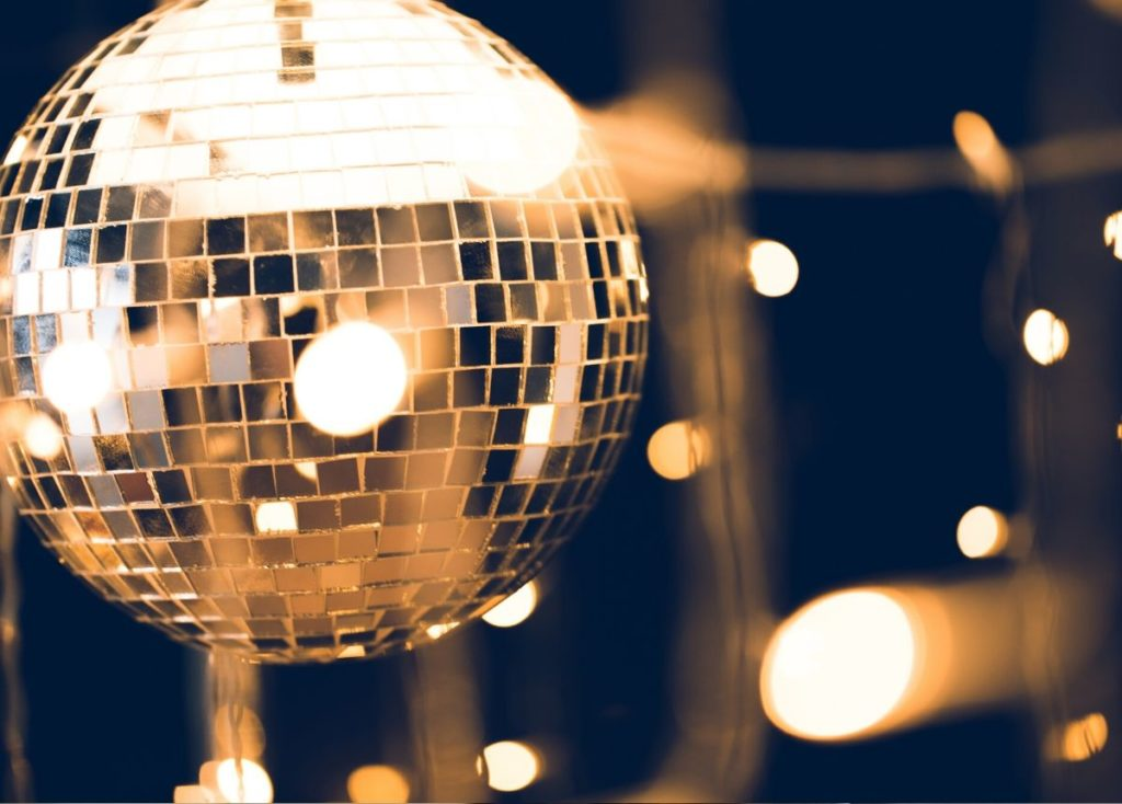 Disco Themed Retirement Party