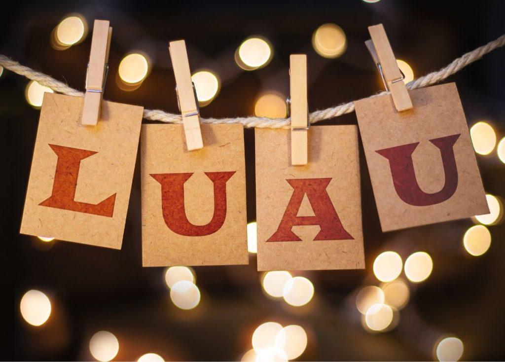 Luau Themed Retirement Party Idea
