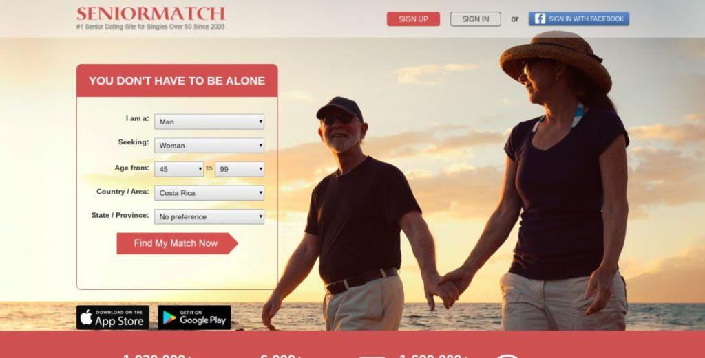 Senior Match for Dating Senior citizens